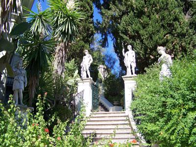Achilleion, Palast der Kaiserin Elisabeth auf Korfu