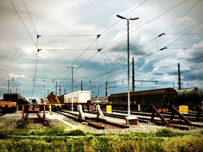 Verschiebebahnhof Wien made with CAM+